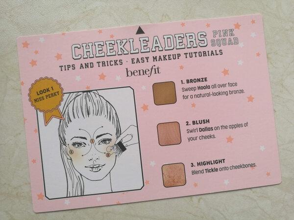Benefit Cheekleaders pink squad la princesse affreuse (1)