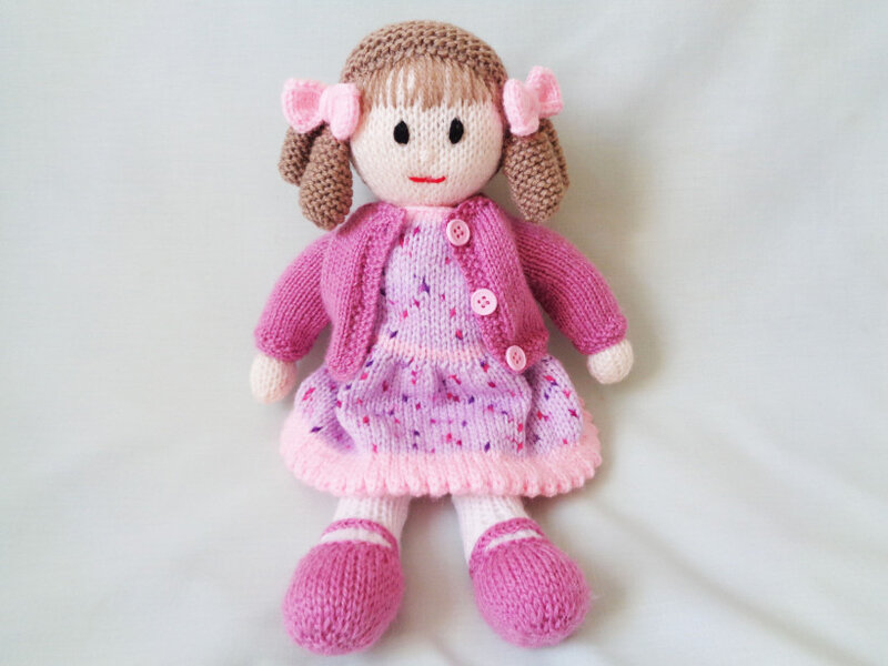 Traduction Little Dazzler Doll Hannah - Carol Turner