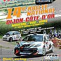 Rallye dijon côte d'or 2015