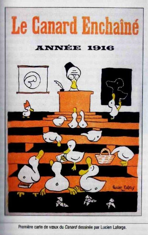 Carte de voeux 1916