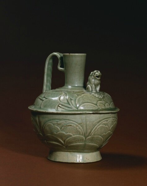 Ewer with a Lion-shaped Spout, 10th-11th century, China, Shaanxi province, Five Dynasties period or Northern Song dynasty