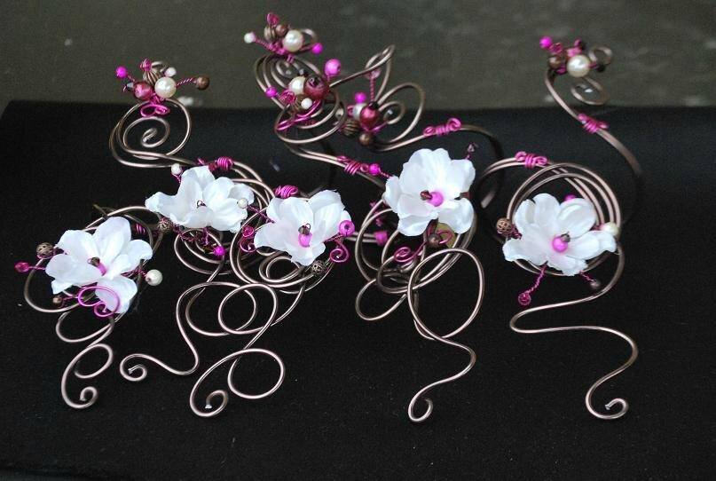 bracelets ouverts pour mariage Anne-Sophie