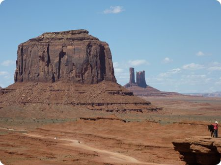 Monument Valley - cheval