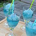 Le bleu en cuisine - aout chez cookingout - #2 bleuet & mauve
