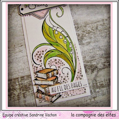 Marque page MUGUET Sandrine VACHON (3)