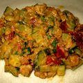Brick crevettes et légumes