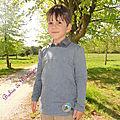 Tunique petit mousse 6 ans