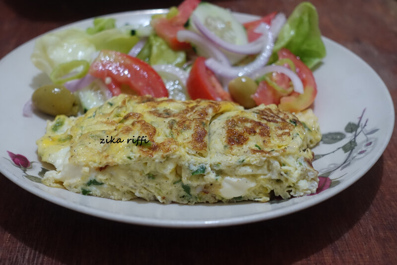 omelette fines herbes et fromage 4