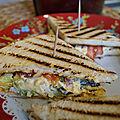 Sandwich aux oeufs mayonnaise (egg salade sandwich)