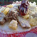Poulet à l'ananas (indonésienne)