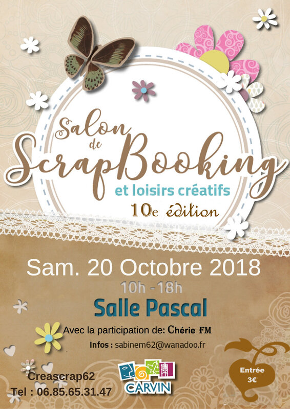 Affiche salon de Carvin