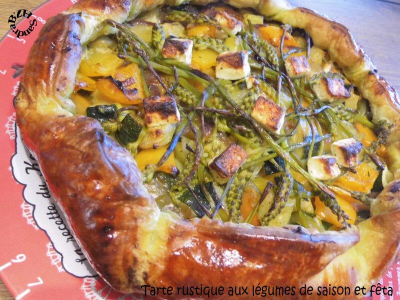 0520 Tarte rustique aux légumes de saison et feta 3 Couv