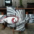 gris et blanc aéro