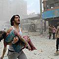 Syrie : la france bombarde des enfants pendant qu'elle donne des leçons de morale à la russie