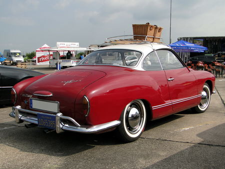 VOLKSWAGEN Karmann Ghia Coupe 1955 1974 Motoren und Power Lahr 2010 2