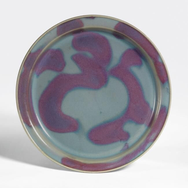 An Exceptional Purple-Splashed 'Jun' Dish, Northern Song Dynasty