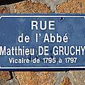 Venansault (85), rue de l'abbé Matthieu de Gruchy