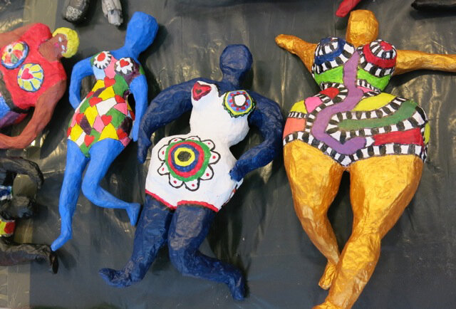 Sculptures Papiers