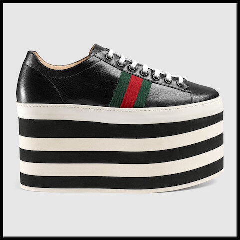 gucci baskets plateforme 2