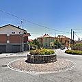 Rond-point à gattinara (italie)