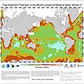 ocean-Total Sediment Thickness of the World's Oceans and Marginal Seas