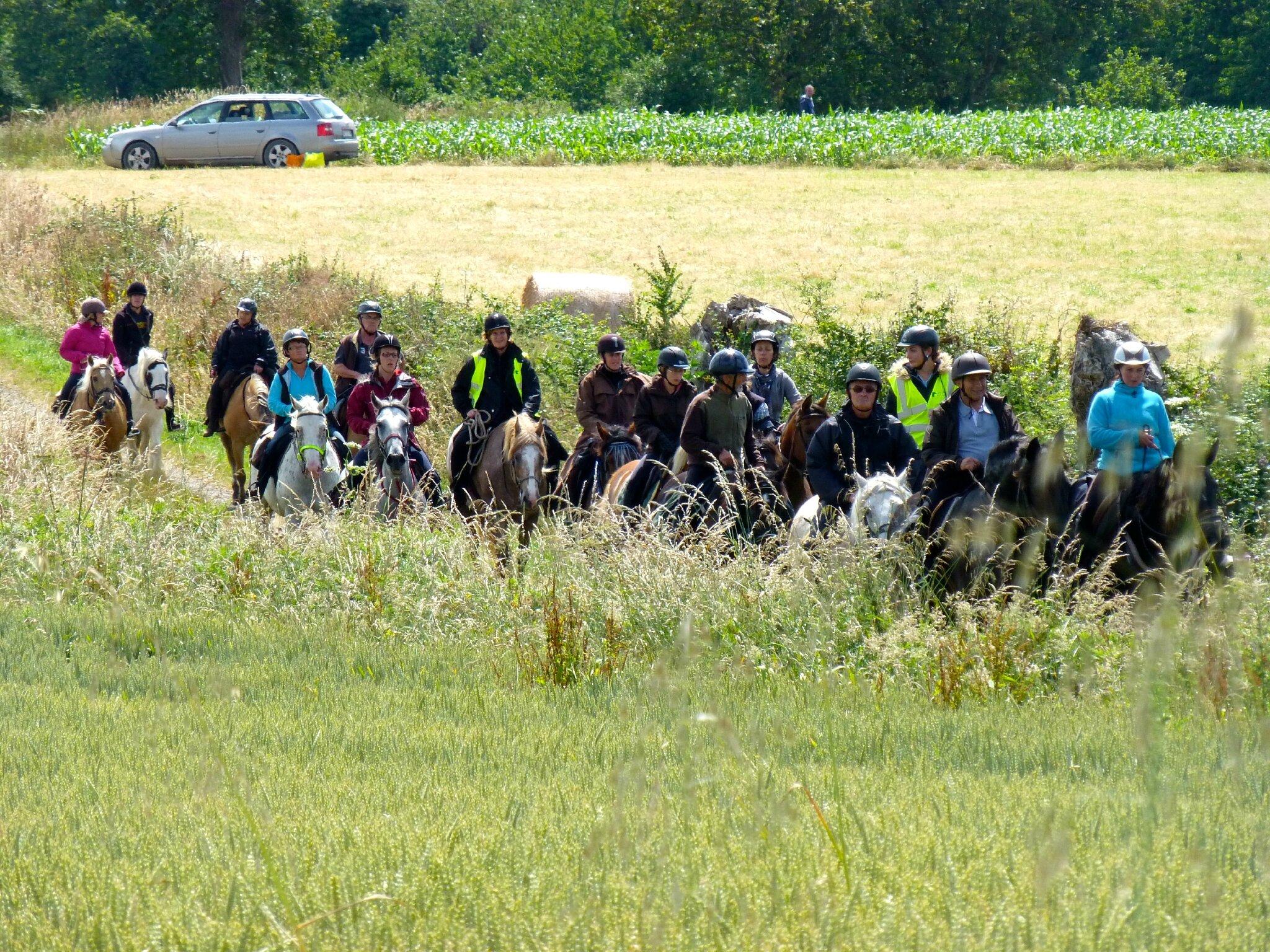 RandoBaie 2014 - balade équestre sur la piste des JEM (138)