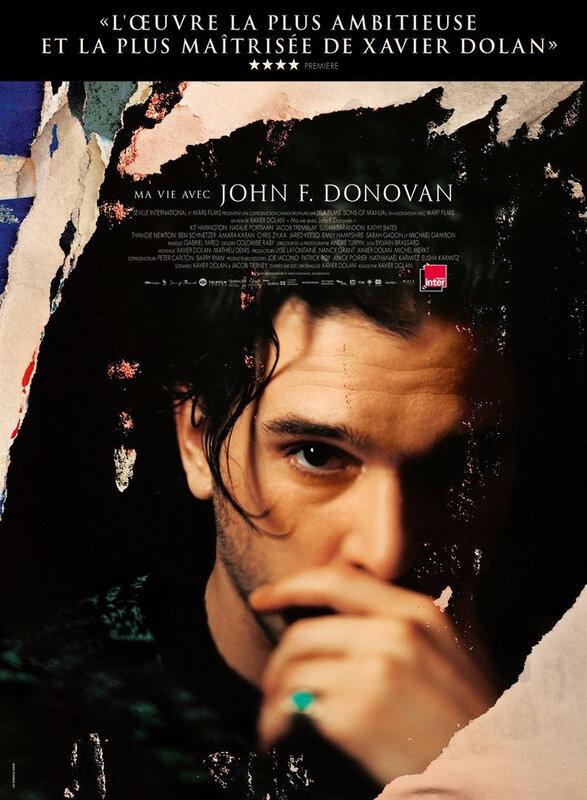 ma vie avec John f donovan affiche