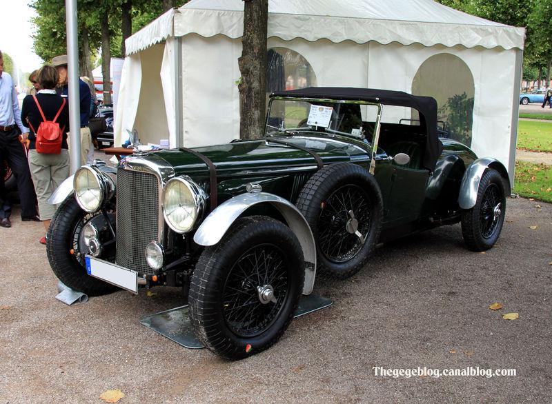 Alvis speed 25-65 special de 1938 (9ème Classic Gala de Schwetzingen 2011) 01