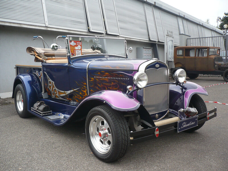 FORD Model A roadster pick-up Hot Rod 1931 Illzach (1)