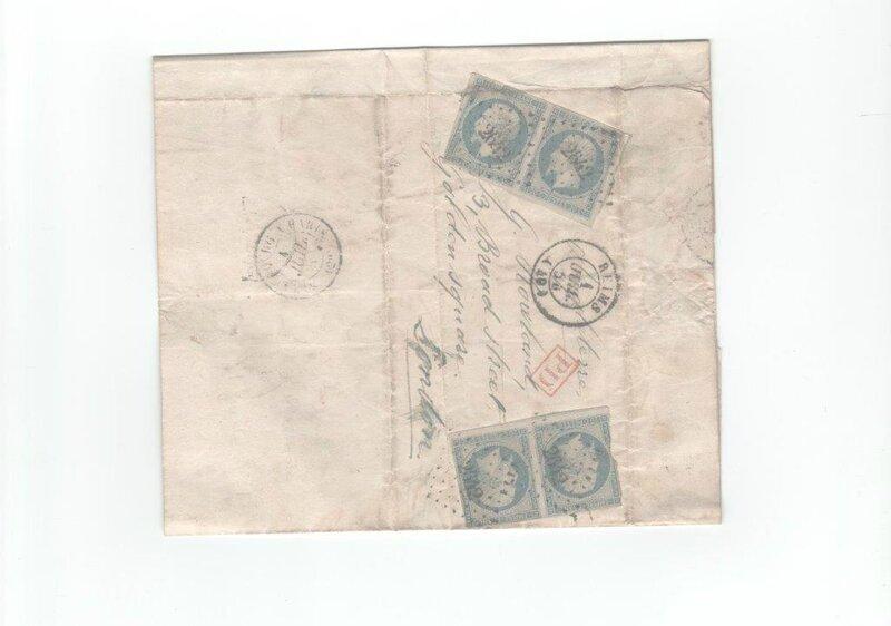 lettre du premier juillet 1854 001