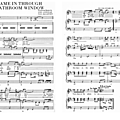 She came in through the bathroom window (partition - sheet music)