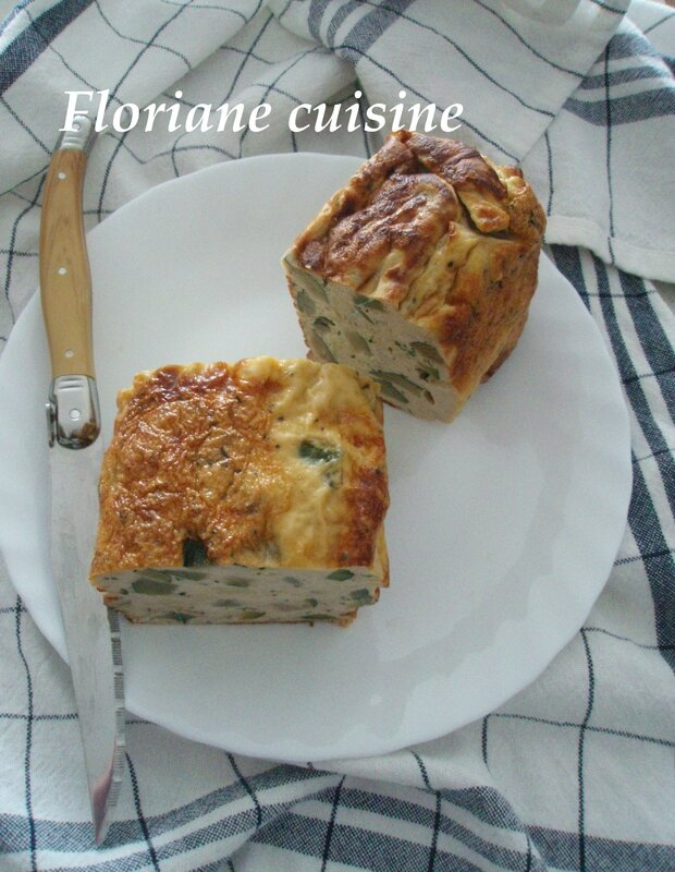 flan courgette 2