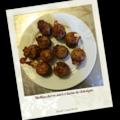 Muffins chèvre miel à la farine de châtaigne