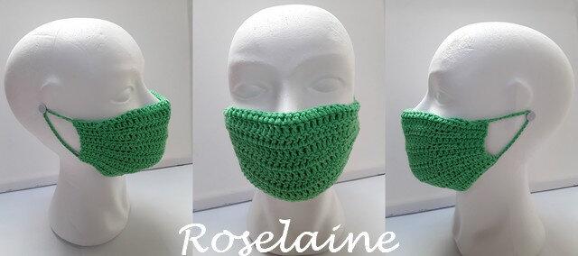 Roselaine crochet masque alternatif 1