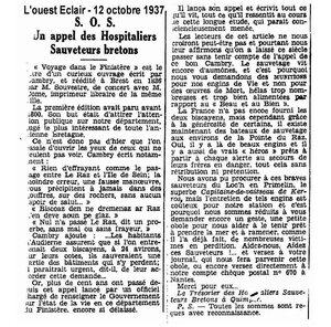 CH15 - Presse OE du 12-10-1937 - SOS des HSB
