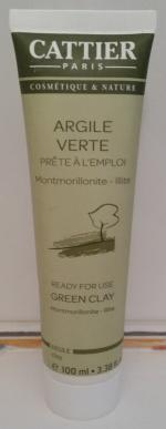 masque purifiant argile verte Cattier