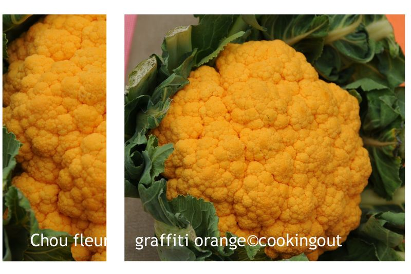 Chou Fleur Graffiti Orange Un An Pour Faire Son Cooking Out