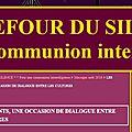 Carrefour du silence, pour une communion interreligieuse