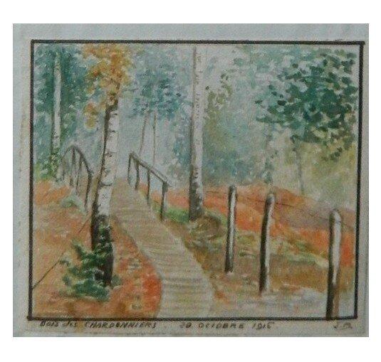 Bois des Charbonniers - 29 octobre 1916 - Jean Bousquet