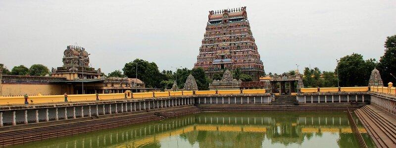 Eaux sacrées de Chidambaram - Photo ML Henry