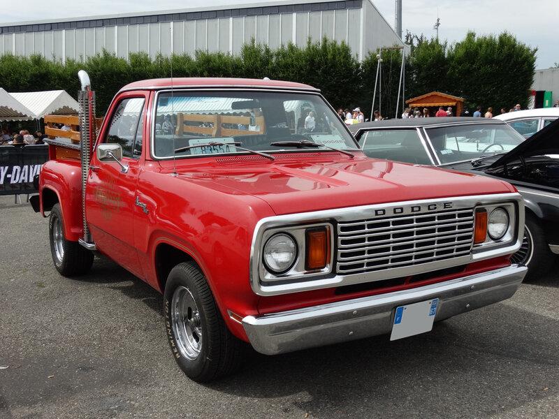 DODGE Adventurer 150 Li'l Red Truck pick-up 1978 Illzach (1)