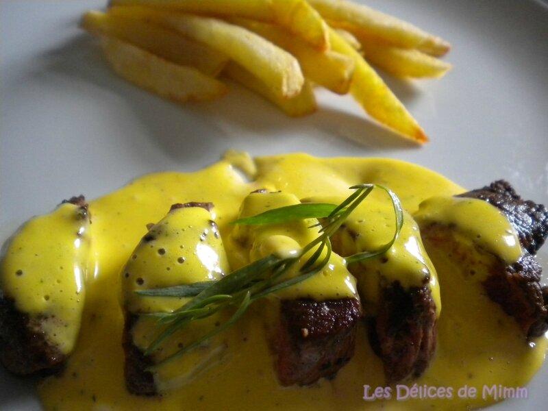 Sauce béarnaise facile, rapide et inratable au blender 4