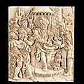 Le christ devant pilate, allemagne, vers 1550