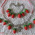Parure fraises