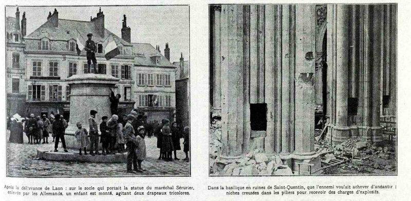 Laon détruite2