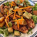 Salade au poulet tandoori