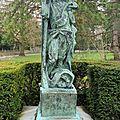 Quand le monument pergaud faillit disparaître du parc micaud... 1er article