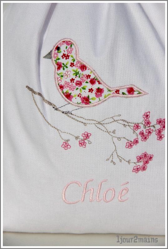 sac chloé oiseau