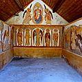 Les fresques du XX° S. de la chapelle ND de Narreyroux