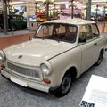 Trabant 601 LS coach de 1986 (Cité de l'Automobile Collection Schlumpf à Mulhouse) 01